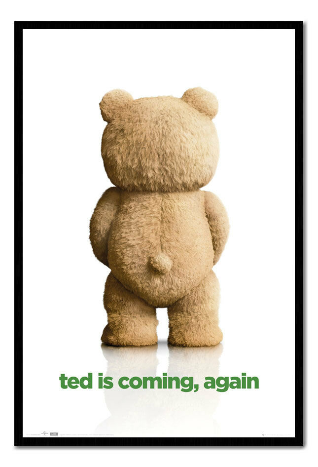 Ted 2 Ted Is Coming Again Framed Cork Pin Memo Board With Pins