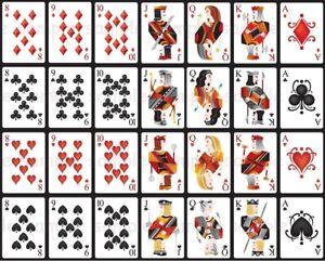 Eßbar Tortenaufleger Spielkarten Ass Skat Poker Party Deko Tortendeko Kartendeck
