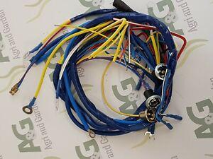 Fordson Dexta / Super Dexta Wiring Loom Harness.   eBayeBay