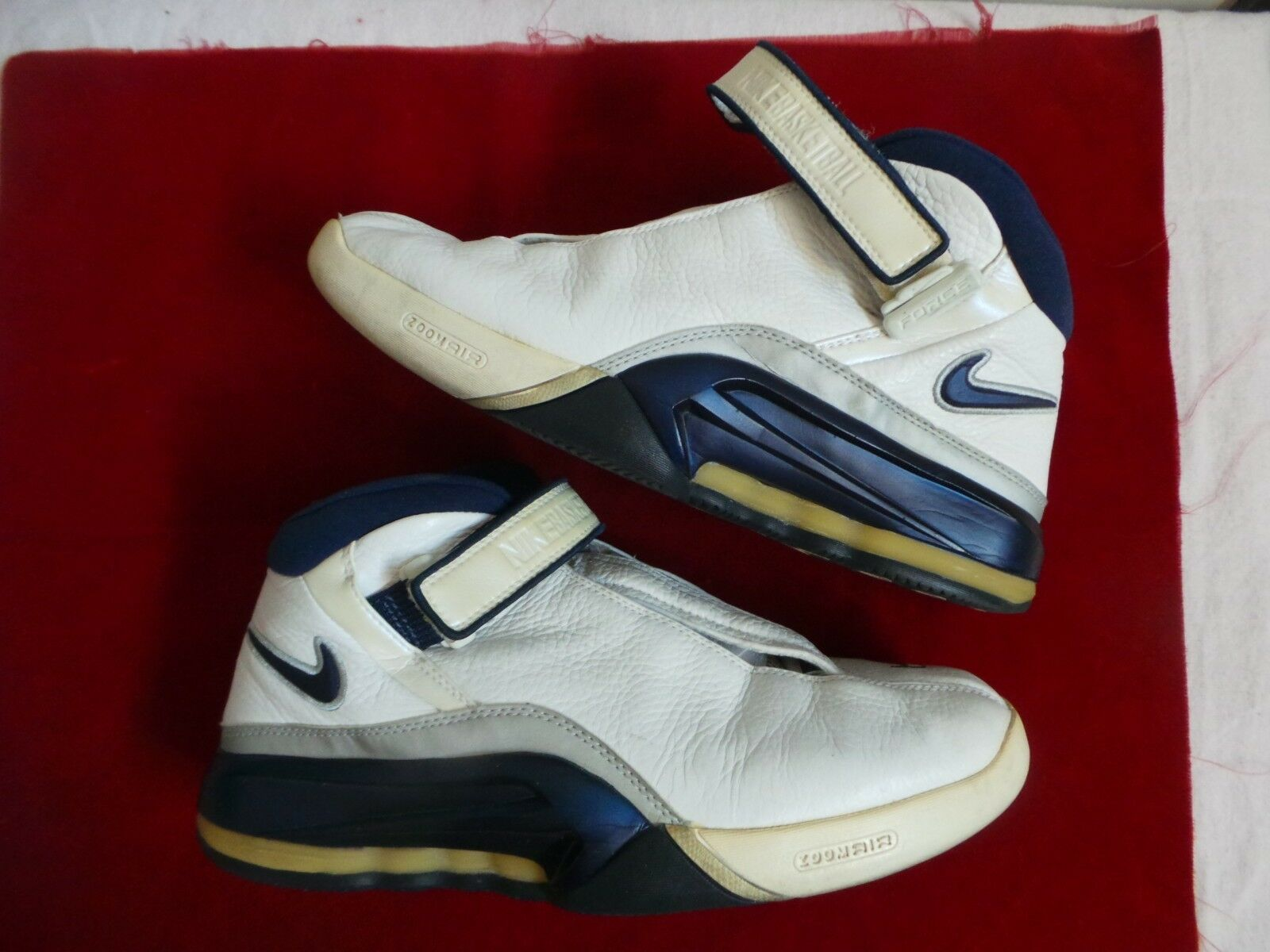 Nike Air Big Flyer Force Tuned Jason Williams White Chocolate 90s vintage 11.5