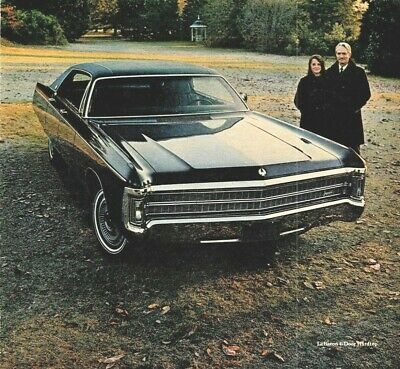 Vintage Print Ad 1969 Chrysler Imperial Le Baron 4 Door Hardtop Luxury Car Ebay