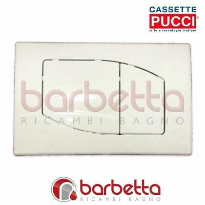 100% Waar Placca Pucci Eco Rombo Parete Bianco Due Pulsanti 80000530