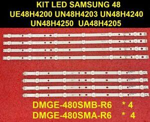 LED strip(8) for UE48H4200 UN48H4200 UA48H4200 BN96-32769A 32770