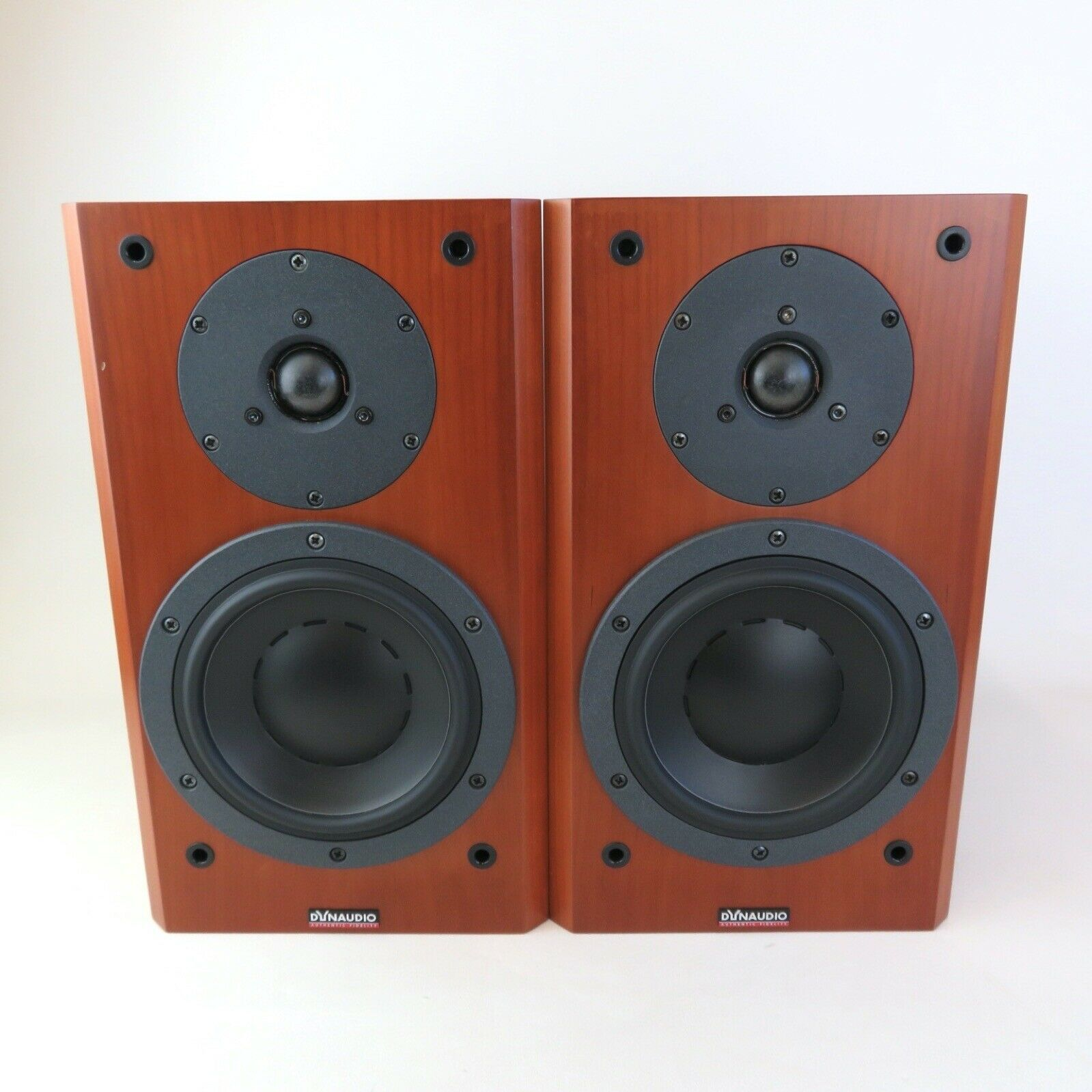 Dynaudio Focus 140 stereo speakers with optional stands (stands not included)