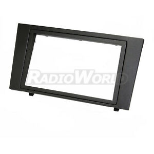 Ford-Mondeo-Double-Din-Fascia-Facia-Panel-Adapter-Plate-Trim-Surround-Car-Stereo
