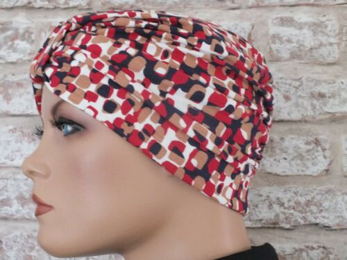 Jersey Hat Headwear for  Hair Loss .Cancer Chemo turban Leukemia