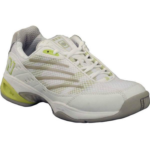 New Balance WCT822W White/Tan/Green Court Shoes 5.5