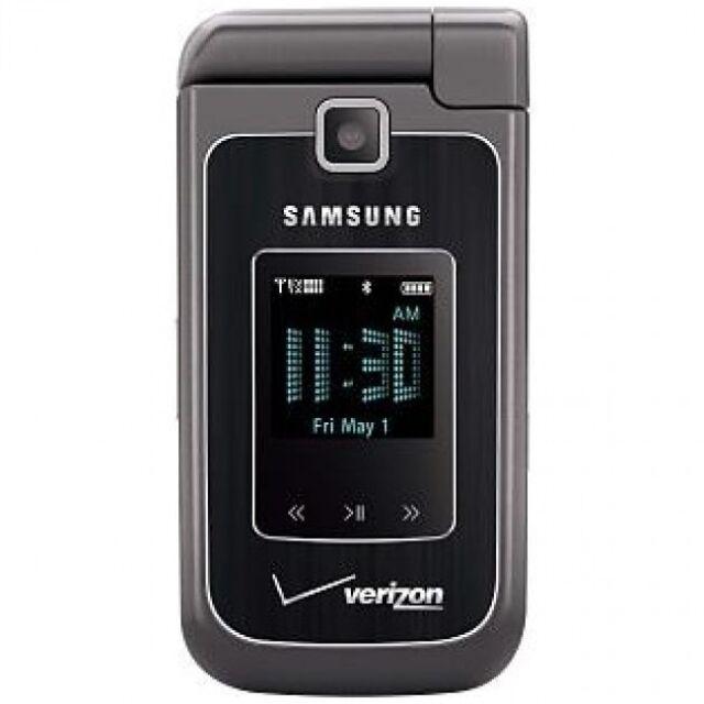 Samsung SCH U750 Alias 2 - Dark Gray (Verizon) Flip phone Must Read