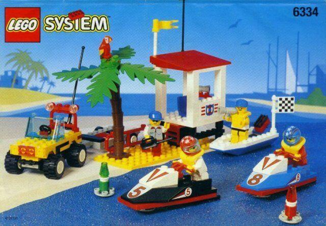 Lego City/Stadt Racer 6334 Welle Springen Racer Neu Ovp Stiefel Ozean Strand Ski