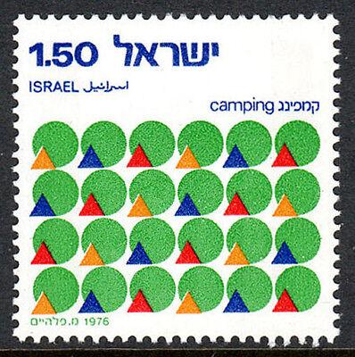 Aggressiv Israel 605 Zelte Und Suns 1976 Postfrisch Israel Camping Union