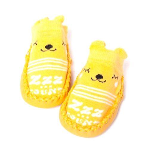 Infant Baby Girl Boy Toddler Anti-slip Warm Slippers Socks Crib Shoe Boot Top