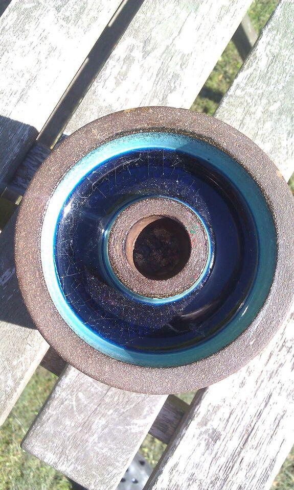 Keramik, Lysestage, mørkebrun keramik