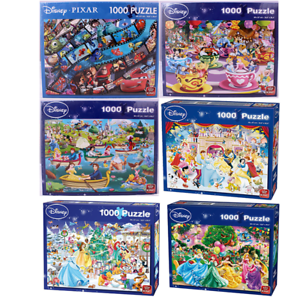 Disney 1000 Piece Jigsaw Puzzles Choice Of 9 Cartoon Official