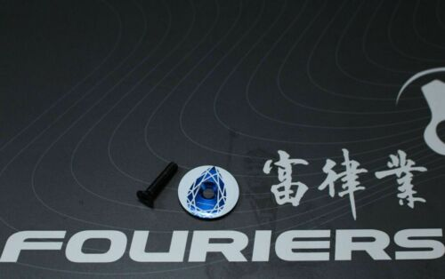 FOURIERS AL top cap with bolt Fit on Giant OD2 1-1//4 1.25mm fork steer DX018 061