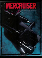 Rare Vintage 1992 Mercury Mercruiser Stern Drive & Inboards Catalog Brochure