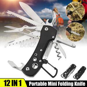 Multi tool Knives Multipurpose Outdoor Folding Pocket Pliers Emergency Multitool