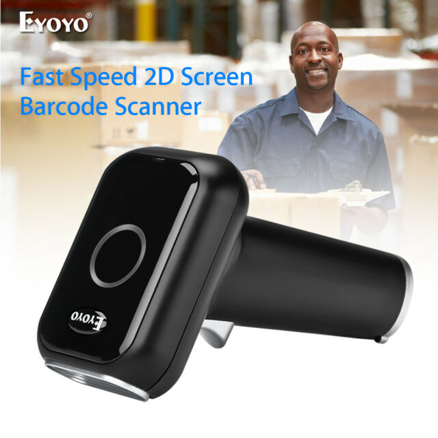 USB Wired 2D Image Barcode Scanner Two Working Mode Screen Scan for Supermarket