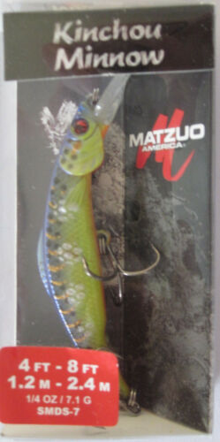 Matzuo Kinchou Minnow-Taille 7-1//4 oz-Hot Steel