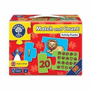 Orchard Toys - Match and Count Educational Puzzle Game