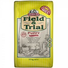 2 x 15kg skinners field and trial puppy complete dog food only £29.75 each!