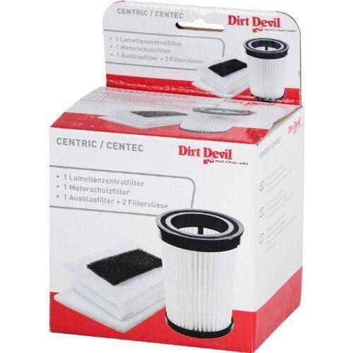 Dirt Devil Original Filterset Lamellenzentral Motorschutz Ausblas Filterhülsen