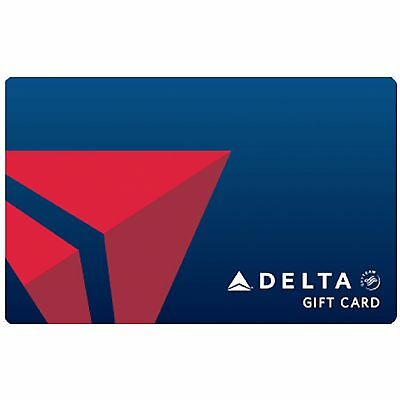 Delta Air Lines Gift Card $100 or $250 - Fast Email delivery