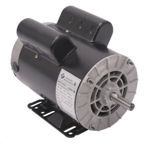 5-HP-SPL-1-Phase-3450RPM-Electric-Air-Compressor-Duty-Motor-56-Frame-5-8-034-Shaft-L