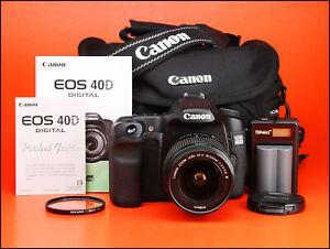 Canon-EOS-40D-DSLR-Camera-18-55-mm-III-Zoom-Lens-Kit-seulement-9-632-photos-prises