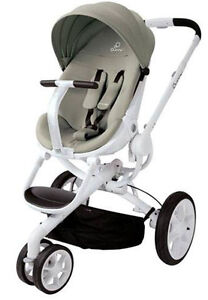 Quinny Moodd Auto Unfold Single Baby Stroller Natural Delight Mood NEW