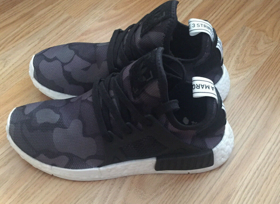 Adidas NMD XR1 Duck Camo 'Core Black' Trainers -