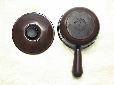 Le Creuset Cast Iron Enamel Sauce Pan & Lid - Size #14, Made in France
