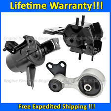 0825 Engine Motor & Trans Mount 3pc Set for 2003-2006 Mazda 6 3.0L w/ AUTO Trans