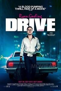 Drive ryan gosling movie poster film a4 a3 art print cinema 2 ebay image is loading drive ryan gosling movie poster film a4 a3 stopboris Choice Image