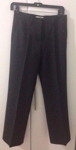 en Us Pantalon 38 laine 2 Taille droit grise Prada EaPwRUq