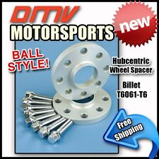 15MM Hubcentric Wheel Spacers Silver Ball Bolts Volkswagon 4x100 57.1 12x1.5