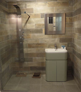 añejo mix wood effect floor or wall tiles 15x60cm (vintage