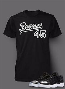 9beffc3612cc 45 T Shirt to Match AIR JORDAN 11 Barons Shoe Pro Club Short Sleeve ...