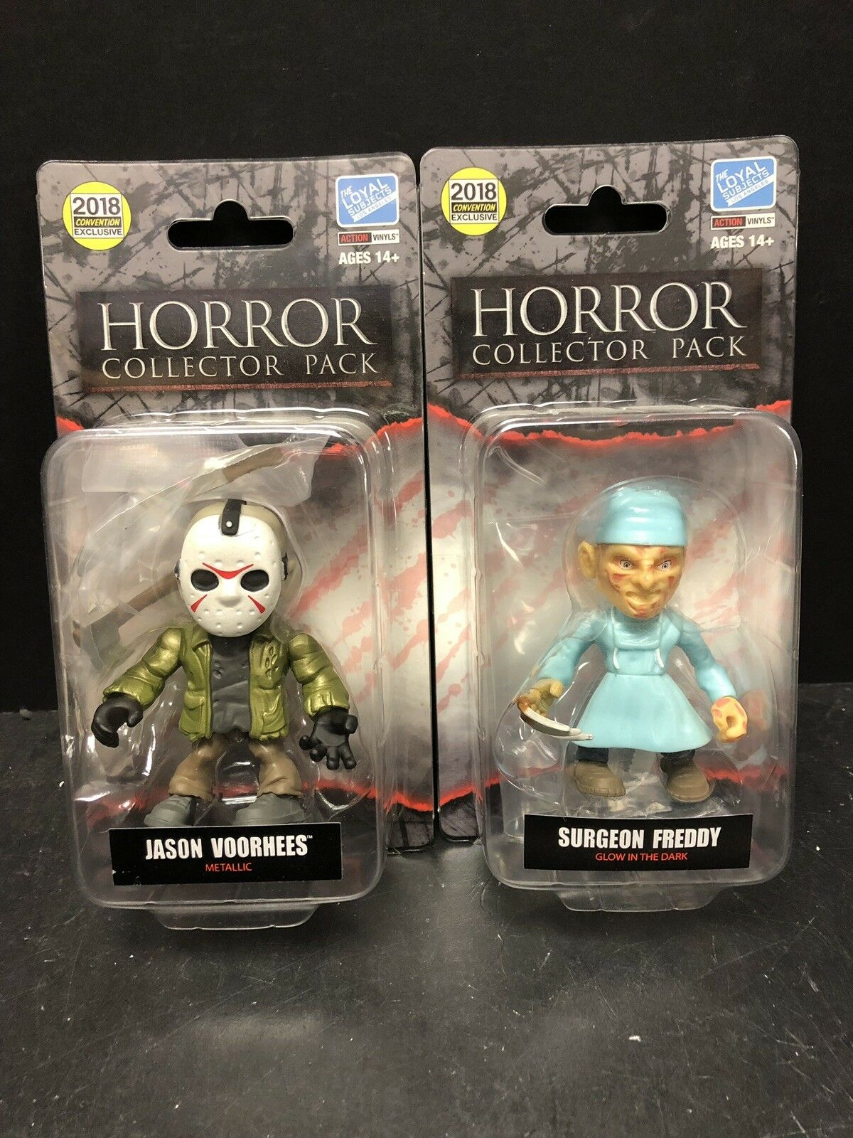 Loyal Subjects 2018 Convention Horror Jason Voorhees & FROTdy Lot Of 2 EM1618