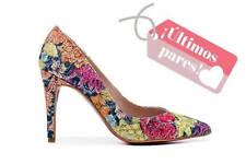 Zapato de salón de fiesta multicolor - Angari