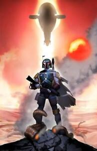 Star-Wars-Mandalor-Mandalorian-Bounty-Hunter-Boba-Fett-Slave-One-Sarlacc-Pit-Art
