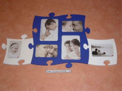 Set 5008 blauweiß Puzzle-Bilderr.Country living 7203-5,7000-11,7011-11