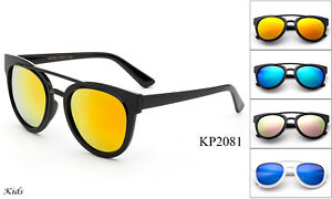 Kids Sunglasses Classic Sporty Lead Free UV 100/% Flash Mirror Lens Boys Girls
