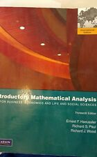 Introductory Mathematical Analysis for Business, Econom