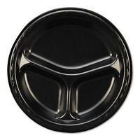 Genpak Elite Laminated Foam Compartment Plates - Gnplam393l on sale