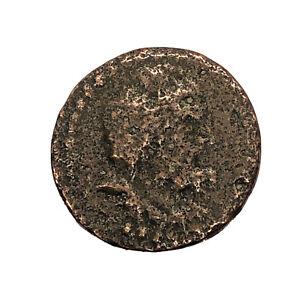 RARE-Ancient-Greek-Copper-Coin-Circa-450BC-100AD-Artifact-Old-Antiquity-B4
