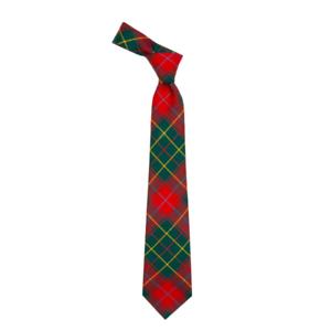 Burnett Modern Mens Tartan Tie100/% Pure WoolLochcarron of Scotland