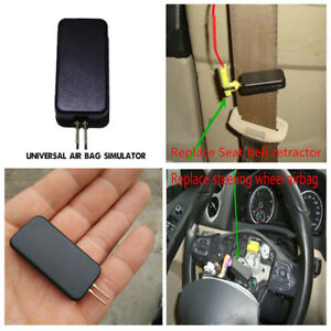 Details about Black Car SRS Air Bag Simulator Emulator Fault Light Sensor  Code Fault Fix Tool