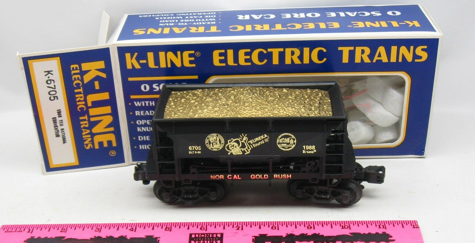 K-Line  K-6705 1988 TCA National Convention ore car