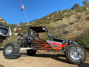 Drakart Sand Rail Dune Buggy - 2 Seat - Hyabusa - 6 Speed Sequential w/ Reverse