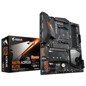 Gigabyte-X570-AORUS-ELITE-Motherboard-AMD-Ryzen-AM4-Max-128GB-DDR4-ATX-Retail